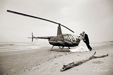 Kāzu foto, Kāzu fotosesijas, Kāzu fotogrāfs Mārtiņš , helikopters