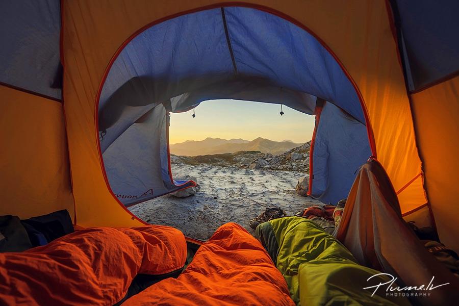 Spānija, kalni, ceļojums, telts, fotogrāfs Mārtiņš Plūme