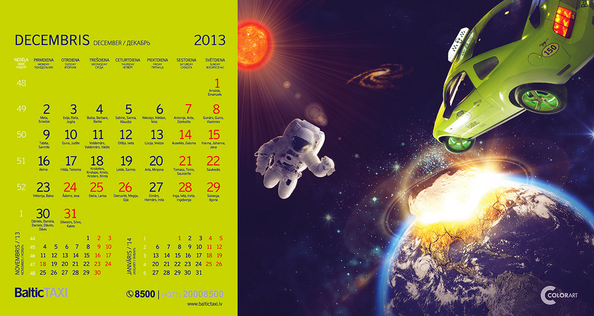 Baltic Taxi kalendars, fotografs Martins Plume  (12)