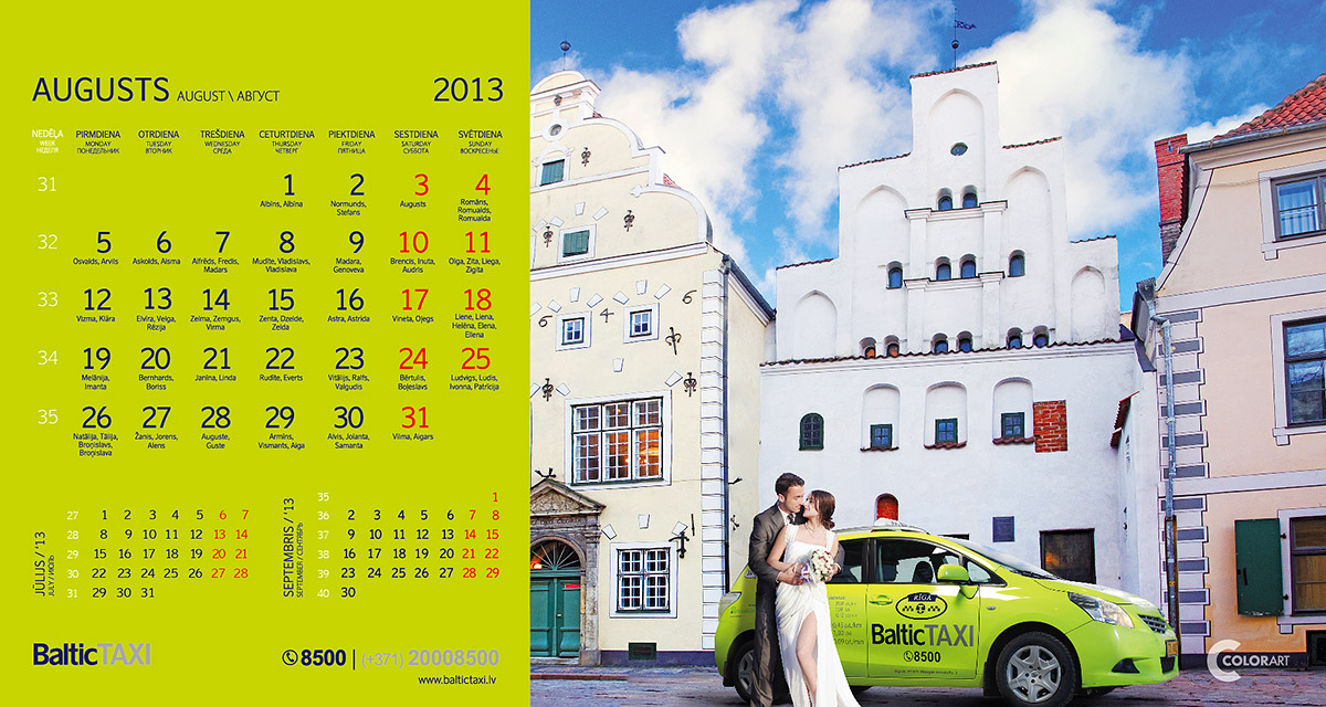 Baltic Taxi kalendars, fotografs Martins Plume  (8)