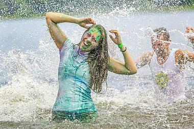 Holi krāsu fotosesija Saules festivālā 2015