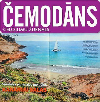 Žurnāls Čemodāns, Kanāriju salas