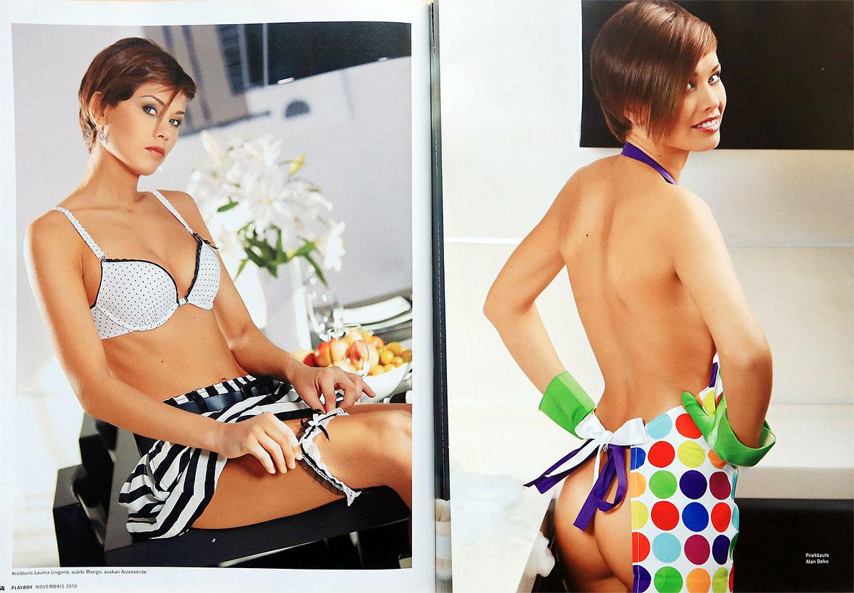 Inese Sproģe, Playboy