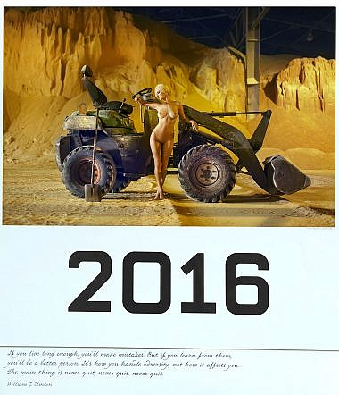 Erotiskais kalendars 2016
