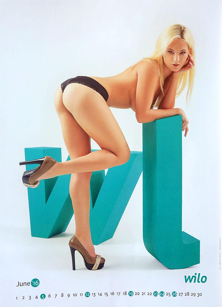 Wilo erotiskais kalendārs, Latvi