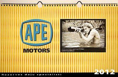APE motors erotiskais kalendārs