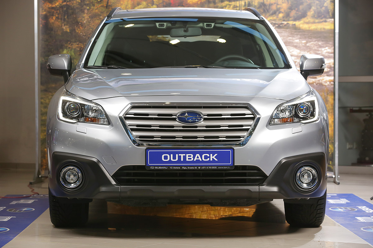 Subaru, TV Motors, reklama, Fotografs Martins Plume