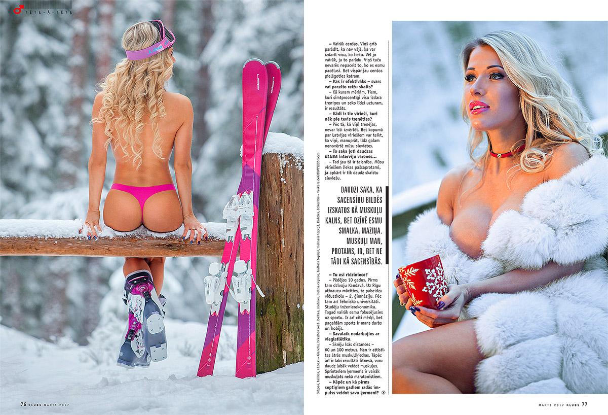 Liga Leite, zurnals klubs, kailfoto, kluba meitene, fotografs Martins Plume, nude magazine, model latvia (2)