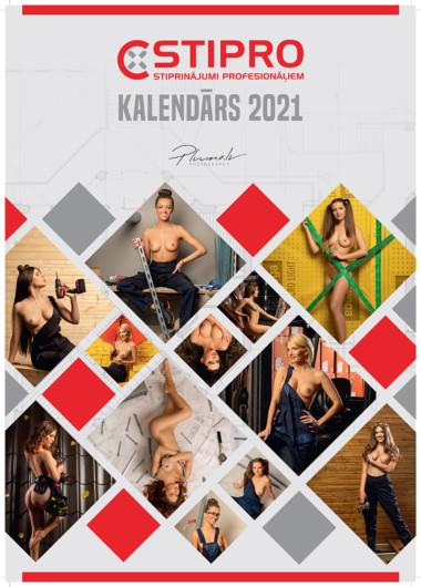 Erotisks kailfoto kalendārs 2021 gadam sadarbībā ar STIPRO